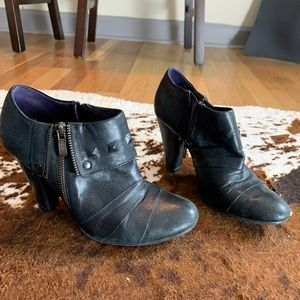 Fake Leather Booties